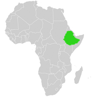 afrika physisch gebirge
