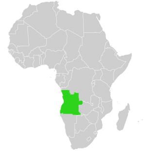 Angola Genaue Karte Und Landes Geographie