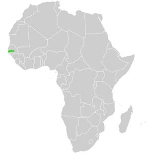 Karte Afrika.Gambia Aktuelle Landkarte Und Geographische Landes Darstellung