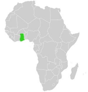 Ghana Karte.Genaue Landkarte Und Landes Geographie Von Ghana Westliches