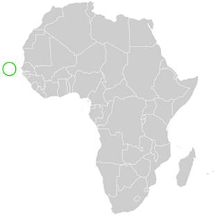 Wo Liegt Kapverden Karte.Kap Verde Ausf Hrliche Landes Geographie Sowie Genaue Karte