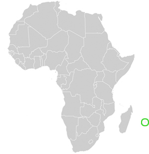 Aktuelle Landkarte Sowie Geographische Beschreibung Von Mauritius
