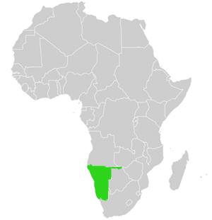 Namibia S Dliches Afrika Geographie Und Karte