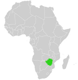 simbabwe karte Simbabwe   Landkarte und genaue geographische Beschreibung