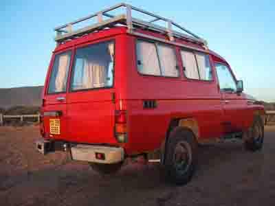 Capetown Car Landcruiser