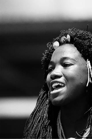 junge Frau, Afrika