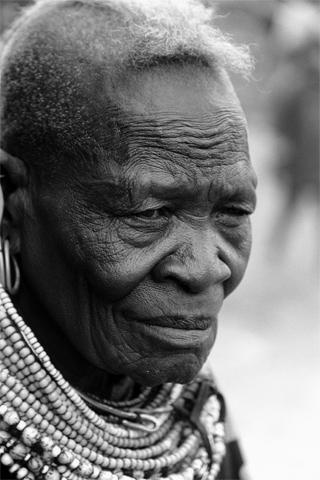 Frau, Turkana, Kenia, Afrika