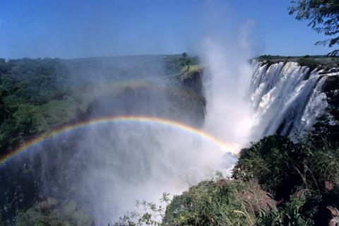 Viktoriafall Bilder Sambia Afrika