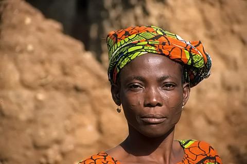 Nigeria Reisen Frau