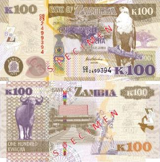 Sambia Banknoten