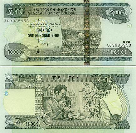 Banknoten Äthiopien