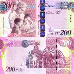 Banknoten Botswana