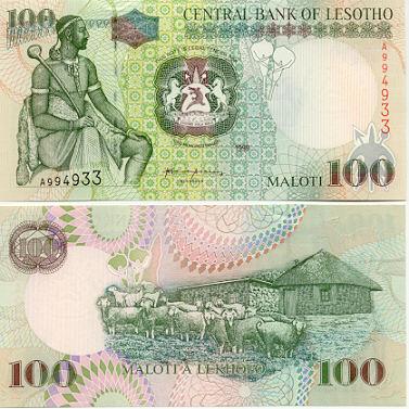 Banknoten Lesotho