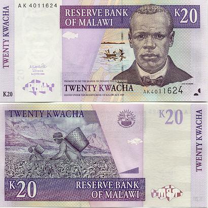 Banknoten Malawi