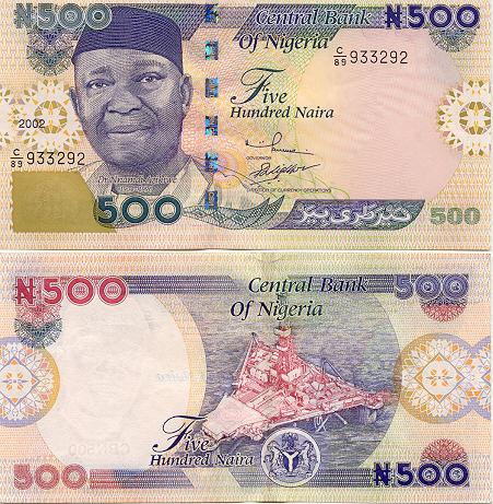 Banknoten Nigeria