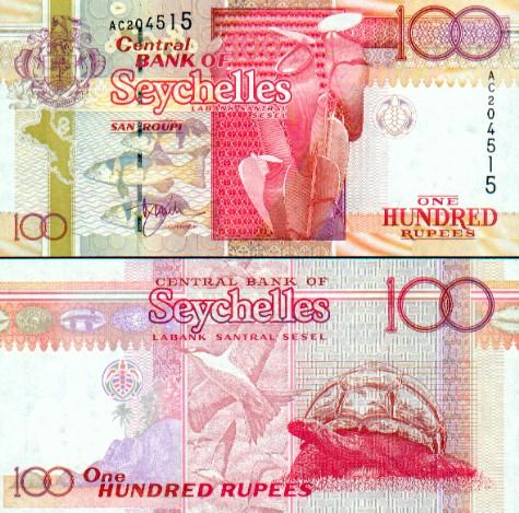 Banknoten Seychellen