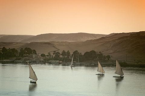 Assuan Ägypten Nil
