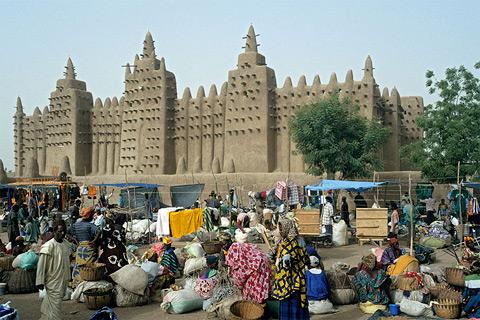 Moschee Djenne Mali Afrika