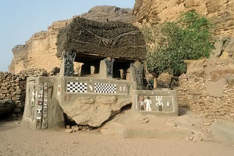 Dogon Mali Afrika Bilder