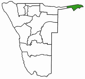 Caprivi Karte
