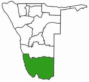 Karas Karte Namibia