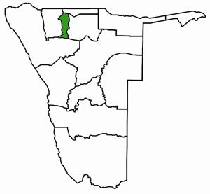 Oshana Namibia Karte