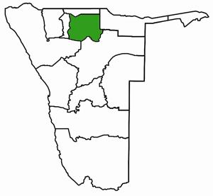 Oshikoto Namibia Karte