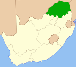 Limpopo Südafrika Karte