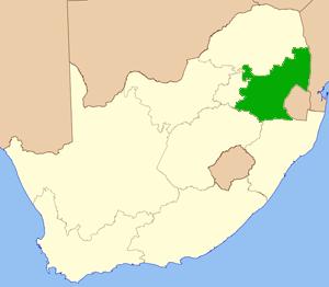 Mpumalanga Südafrika Karte
