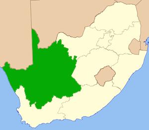 Nordkap Südafrika Karte