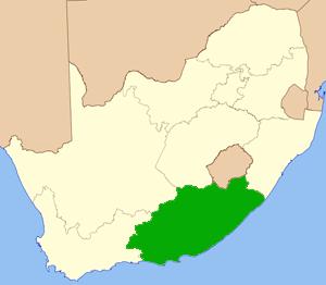 Ostkap Südafrika Karte